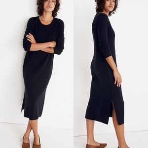 Madewell Midi Sweater Dress Size Medium